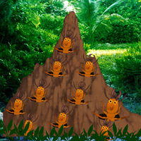 termite-mound-forest-escape