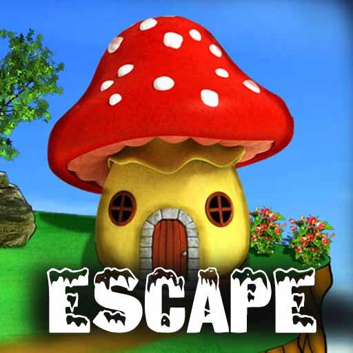 fantasy mushroom house escape