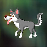 Amiable Forest Wolf Escape Game
