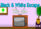 Black and white escape lab