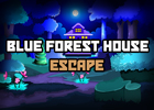 Blue Forest House Escape