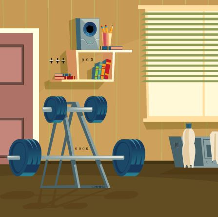 GFG_Home_Gym_Escape