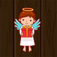 Cute Little Angel Escape Game