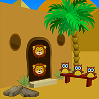 Desert Castle Escape Game