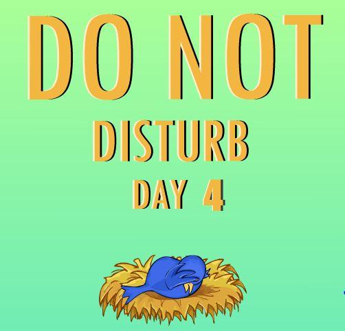 Nsrgames Do Not Disturb day 4
