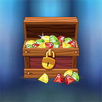Find Gold Treasure Box Game