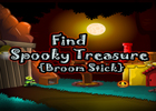 Find Spooky Treasure Broomstick