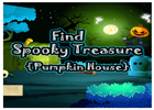 Find Spooky Treasure Pumpkin House