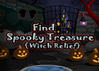 Find Spooky Treasure Witch Relief Walkthrough
