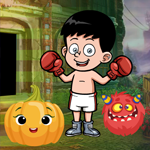Boxing Boy Escape