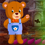 G4K Rescue The Clad Bear Game Walkthrough