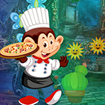 Monkey Pizza Chef Es…