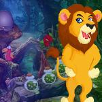 Grumpy Lion Escape