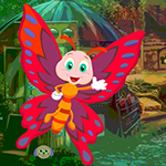 G4k Red Butterfly Rescue Game