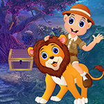 G4k Ride Lion Rescue Game_p1
