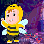G4k Slothful Bee Rescue Game