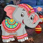 G4k Temple Elephant Escape Game