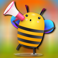 Happy Honey Bee Escape