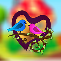 Joyful Love Birds Escape Game