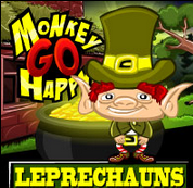Monkey GO Happy Leprechauns