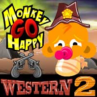 Monkey Go Happy Western 2
