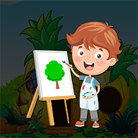 Painter Boy Escape Game