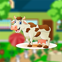 Rescue Farmhouse Cow Game