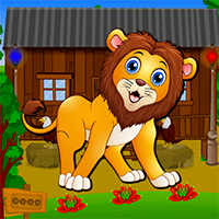 Rescue The Forest Lion Game