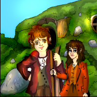SECRET LOVE HOBBIT ESCAPE