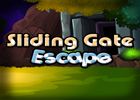 Sliding Gate Escape Walkthrough