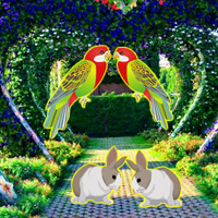 Beautiful Love Garden Escape