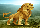 Big Gold Lion Land Escape