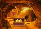 Big Golden Cave Land Escape