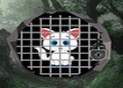 Big White Kitty Escape
