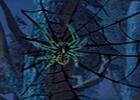 Wow Black Widow Spider Forest Escape