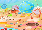 Wow Escape CandyLand Game