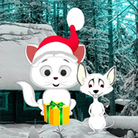 Christmas Cat and Mouse Fiction Escape