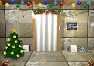 Christmas Elevator Escape