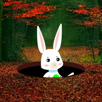 easter-bunny-autumn-forest-escape