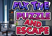 Fix the puzzle and escape