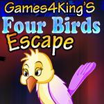 Four Birds Escape