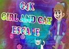 G4K Girl and Cat Escape