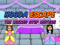 Hooda Escape The Wicked Step Sisters