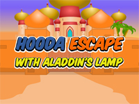 Hooda Escape With Aladdin's Lamp