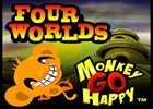 Monkey GO Happy Four Worlds