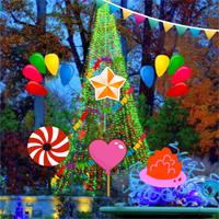 New Year Party Garden Escape