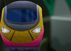 Old Subway Train Escape