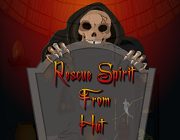 Rescue spirit from hut