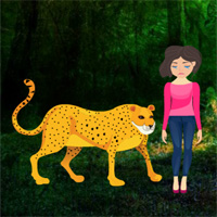 Rescue Girl From Wild Animal
