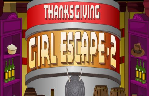 Thanksgiving Girl Escape 2